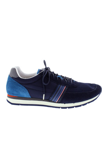 paul et smith baskets homme de couleur bleu