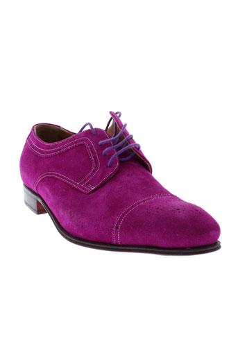 george et s derby homme de couleur violet