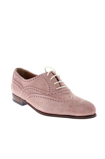 george's chaussures femme de couleur rose