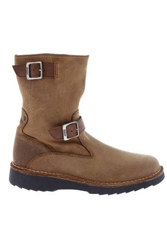 buggy boots femme de couleur beige