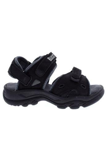buggy sandales et nu et pieds garcon de couleur noir