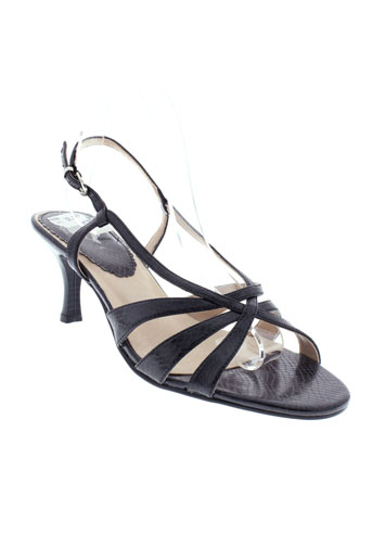matin chagrin chaussures femme de couleur noir