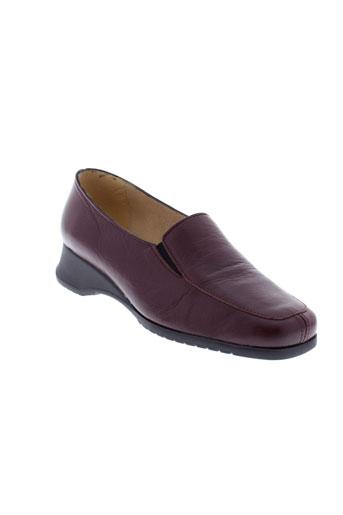 boissy chaussures femme de couleur rouge
