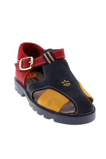 virona chaussures garçon de couleur bleu