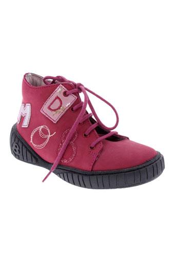 mod8 bottillons fille de couleur rose