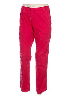 Pantalon chic rouge I.CODE (By IKKS) pour femme