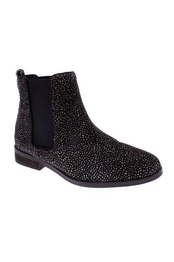 maruti boots femme de couleur marron