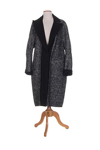 sportmax manteaux femme de couleur noir