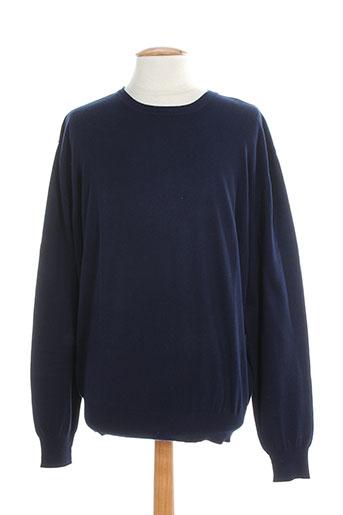berac pulls homme de couleur bleu