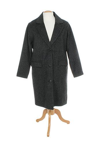 minimum manteaux femme de couleur gris