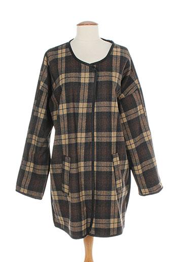minimum vestes femme de couleur marron