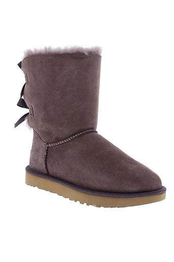 ugg boots femme de couleur gris