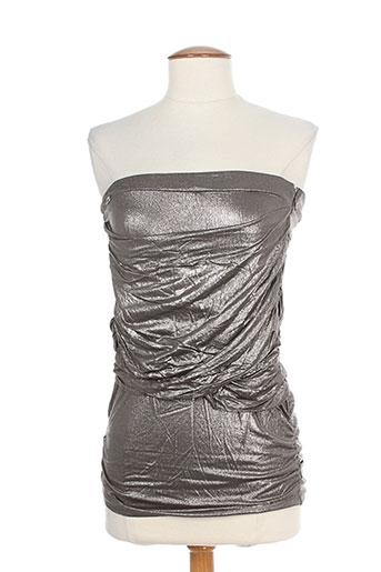 miss sixty chemises femme de couleur gris