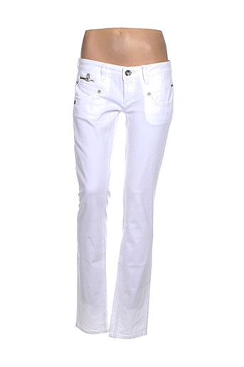 freeman et t et porter pantalons et decontractes femme de couleur blanc
