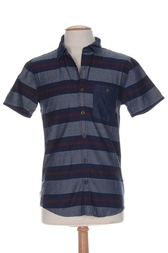 billabong chemises homme de couleur bleu