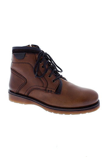 stressless bottines homme de couleur marron