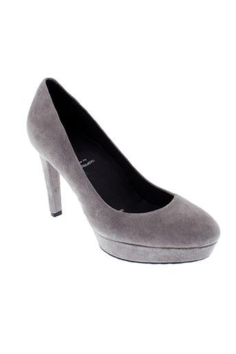 rockport chaussures femme de couleur gris