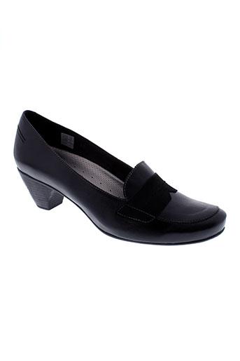 piesanto chaussures femme de couleur noir