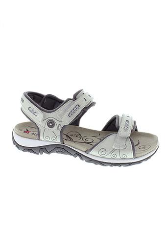 allrounder sandales et nu et pieds femme de couleur blanc