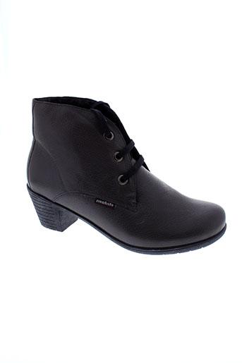 mobils boots femme de couleur gris