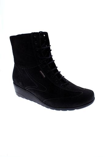 mobils chaussures femme de couleur noir
