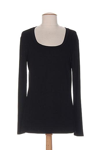 isabel de pedro chemises femme de couleur noir