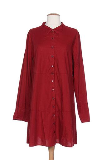 elemente clemente tuniques femme de couleur rouge