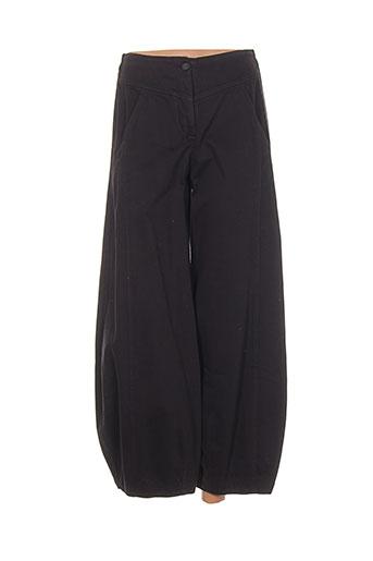 oska pantalons femme de couleur gris