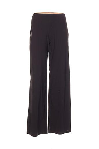 heteroclite pantalons femme de couleur marron