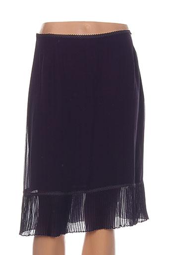 nougat jupes femme de couleur violet