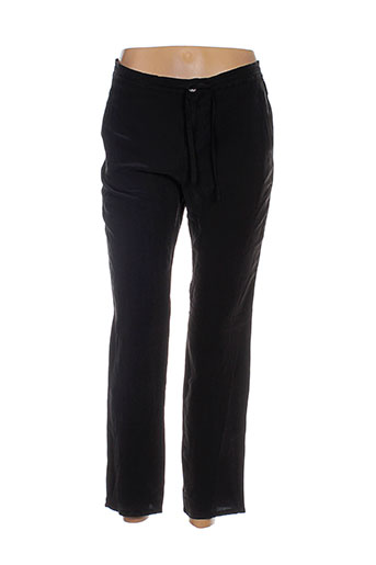 sack's pantalons femme de couleur noir