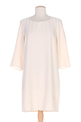 vila robes femme de couleur beige