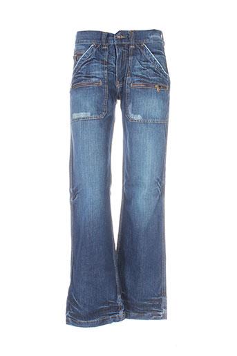 rwd jeans homme de couleur bleu