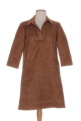 clp robes femme de couleur marron