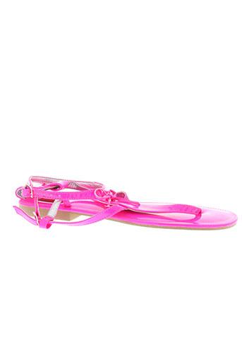 bijou de pied chaussures femme de couleur rose