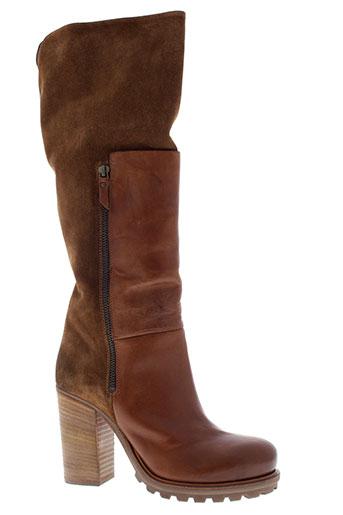 vic bottes femme de couleur marron