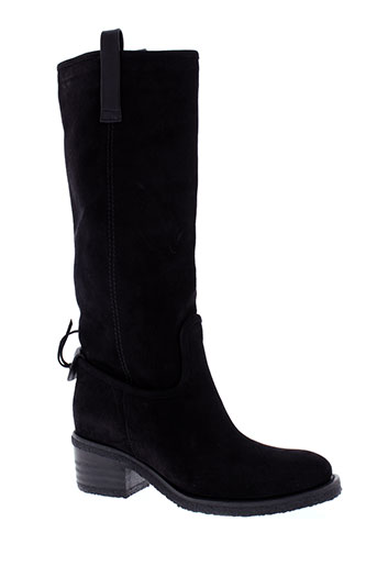 buttero bottes femme de couleur noir