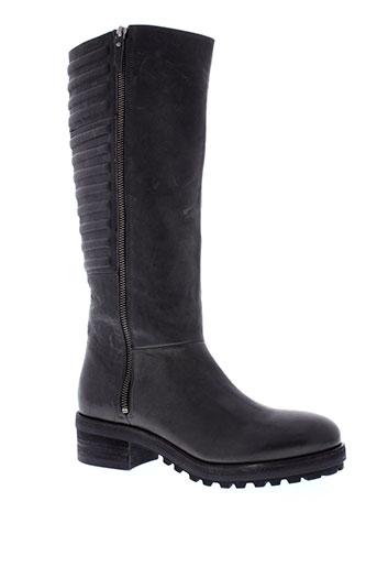 vic bottes femme de couleur gris