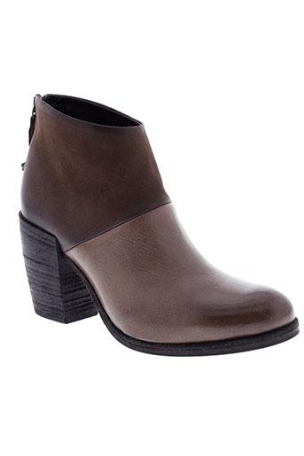 halmanera boots femme de couleur marron