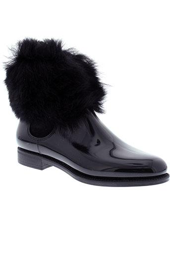 menghi chaussures femme de couleur noir