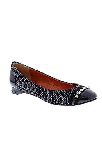 saint honore chaussures femme de couleur noir