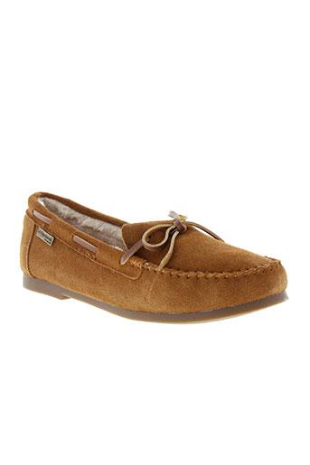 les tropeziennes chaussures femme de couleur marron