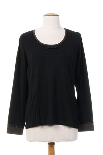 jean gabriel t-shirts femme de couleur noir