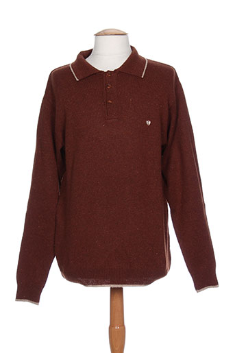 cap 10 ten pulls homme de couleur marron