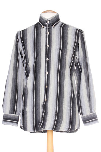 cap 10 ten chemises homme de couleur gris