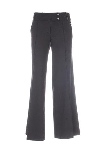 faith connexions pantalons femme de couleur noir