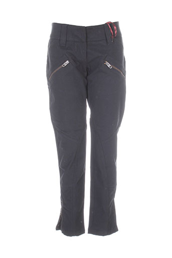 Pantalon casual noir BRAY pour femme