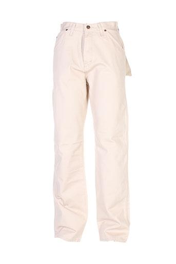 dickies pantalons femme de couleur beige