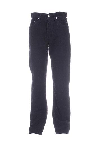 big star pantalons homme de couleur bleu