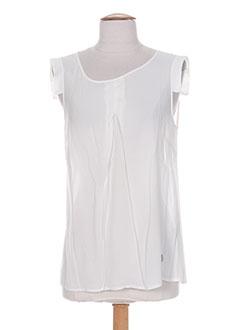 Produit-T-shirts / Tops-Femme-BLANC BOHEME